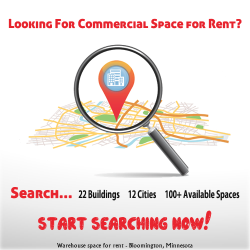 "Bloomington, Minnesota Warehouse space for rent border=""0"""